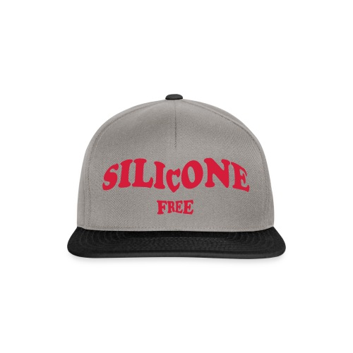 Silicone Free - Rood - Snapback cap