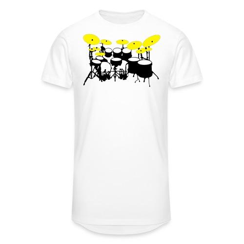 Drums White - Maglietta  Urban da uomo