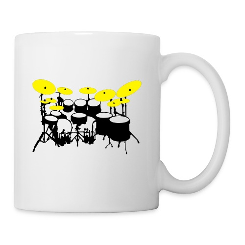 Drums White - Tazza