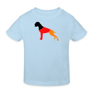 Deutscher Boxer - Kinder Bio-T-Shirt