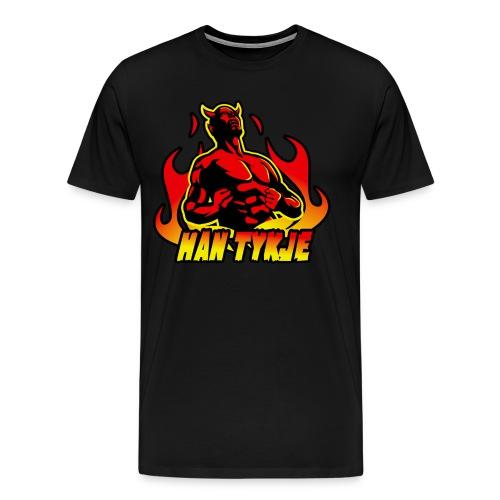 Han tykje - Premium T-skjorte for menn