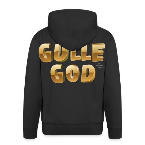 Gulle god - Premium Hettejakke for menn