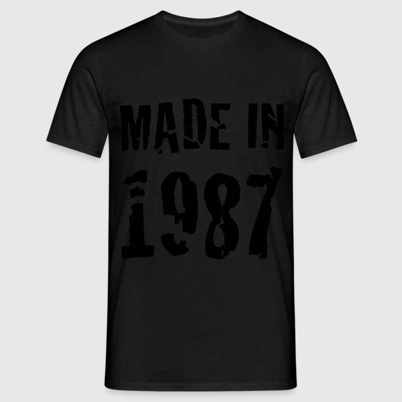 Made In 1987 T-Shirts - Men's T-Shirt
