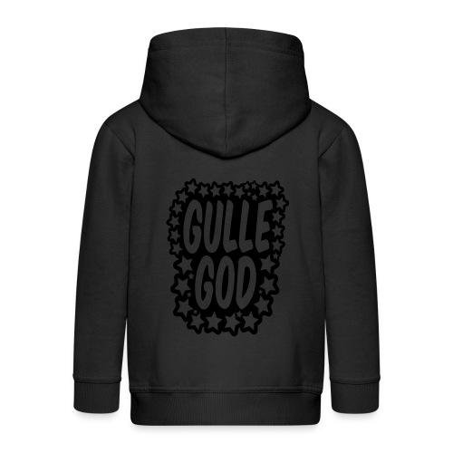 «Gulle god» gull metallic folietrykk - Premium Barne-hettejakke