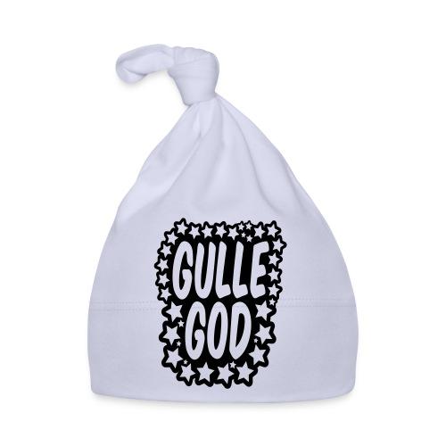 «Gulle god» gull metallic folietrykk - Babys lue