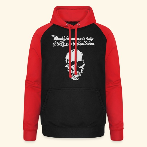 Death is, Geisterstunde - Unisex Baseball Hoodie