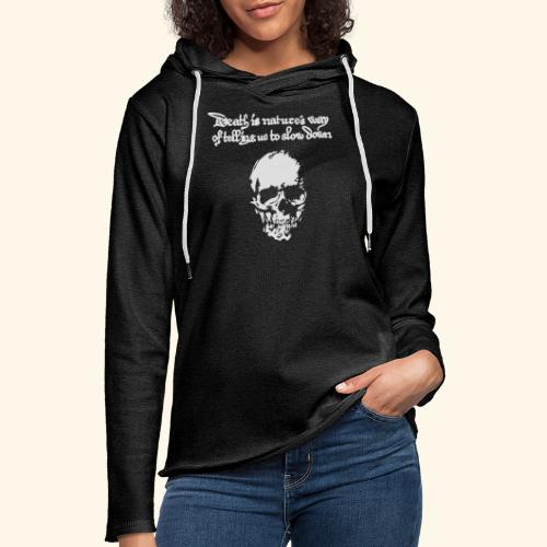 Death is, Geisterstunde - Leichtes Kapuzensweatshirt Unisex