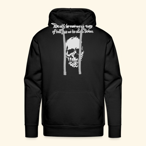 Death is, Geisterstunde - Männer Premium Hoodie