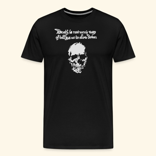 Death is, Geisterstunde - Männer Premium T-Shirt