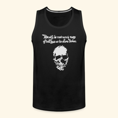 Death is, Geisterstunde - Männer Premium Tank Top