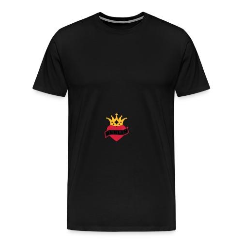Mit Herz & Krone - BERLIN | Rucksack - Männer Premium T-Shirt