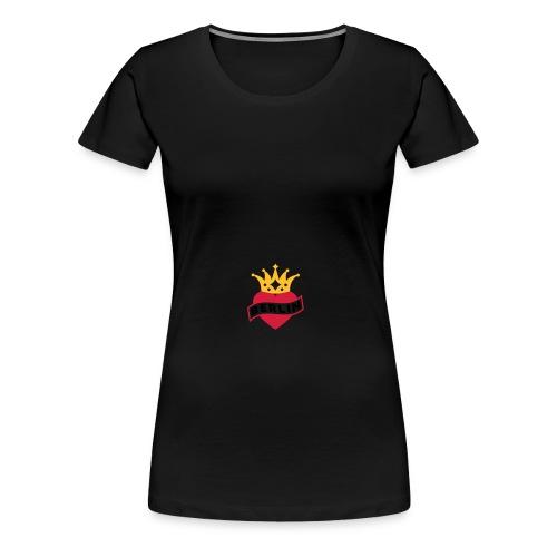 Mit Herz & Krone - BERLIN | Rucksack - Frauen Premium T-Shirt