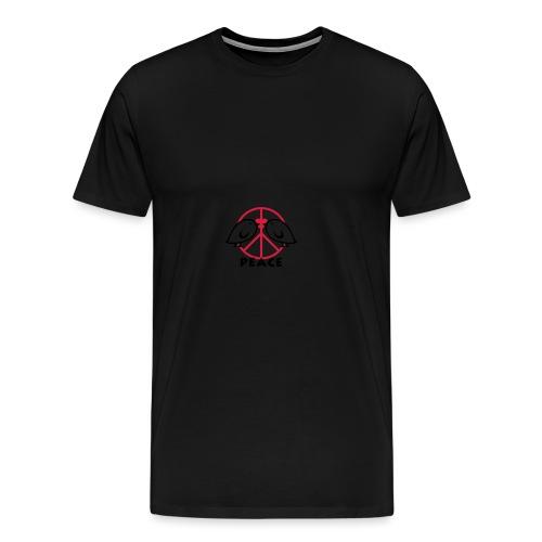 TWEETLERCOOLS - PEACE | Rucksack - Männer Premium T-Shirt