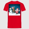 Lighting Red Noses T-Shirts - Men's T-Shirt