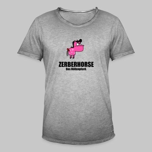 Zerberhorse Tasse - Männer Vintage T-Shirt