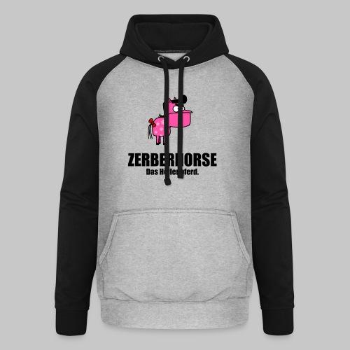Zerberhorse Tasse - Unisex Baseball Hoodie