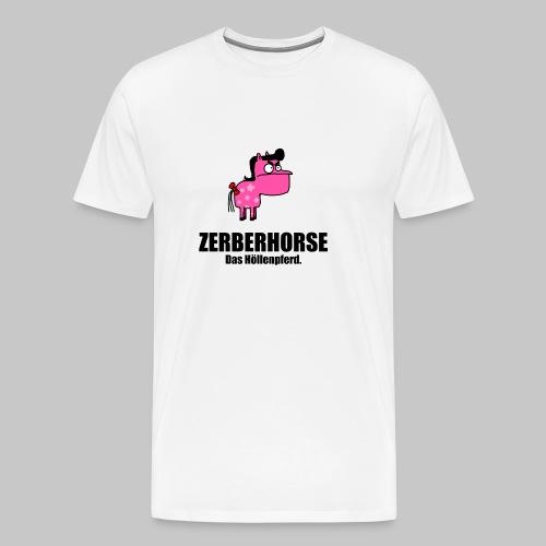 Zerberhorse Tasse - Männer Premium T-Shirt