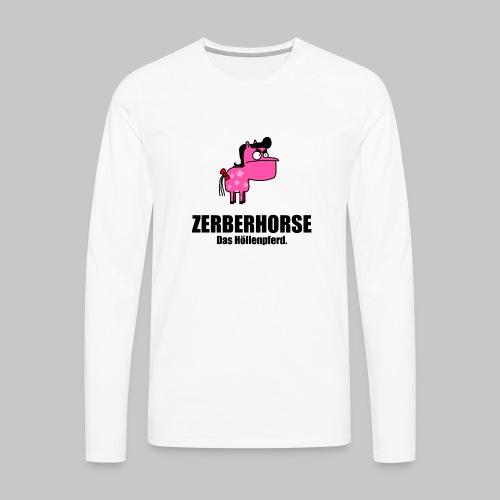 Zerberhorse Tasse - Männer Premium Langarmshirt