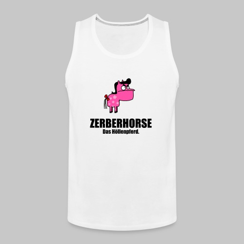 Zerberhorse Tasse - Männer Premium Tank Top