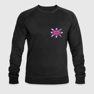 A painted English flag Polo Shirts - Men's Sweatshirt by Stanley & Stella