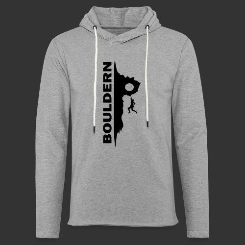 Bouldern - Leichtes Kapuzensweatshirt Unisex