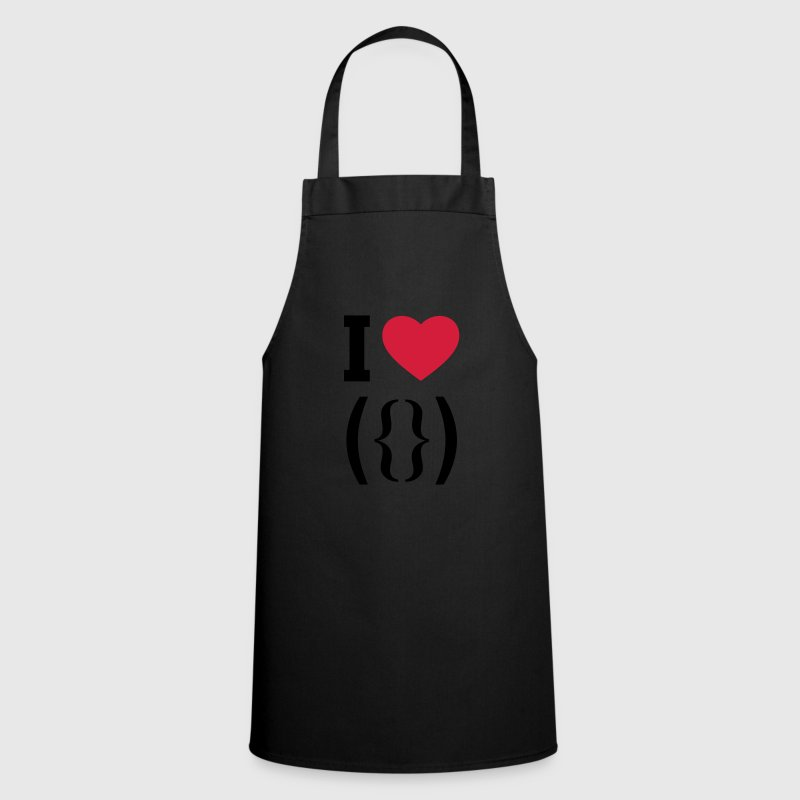 I LOVE PUSSY - ASCII  Aprons - Cooking Apron