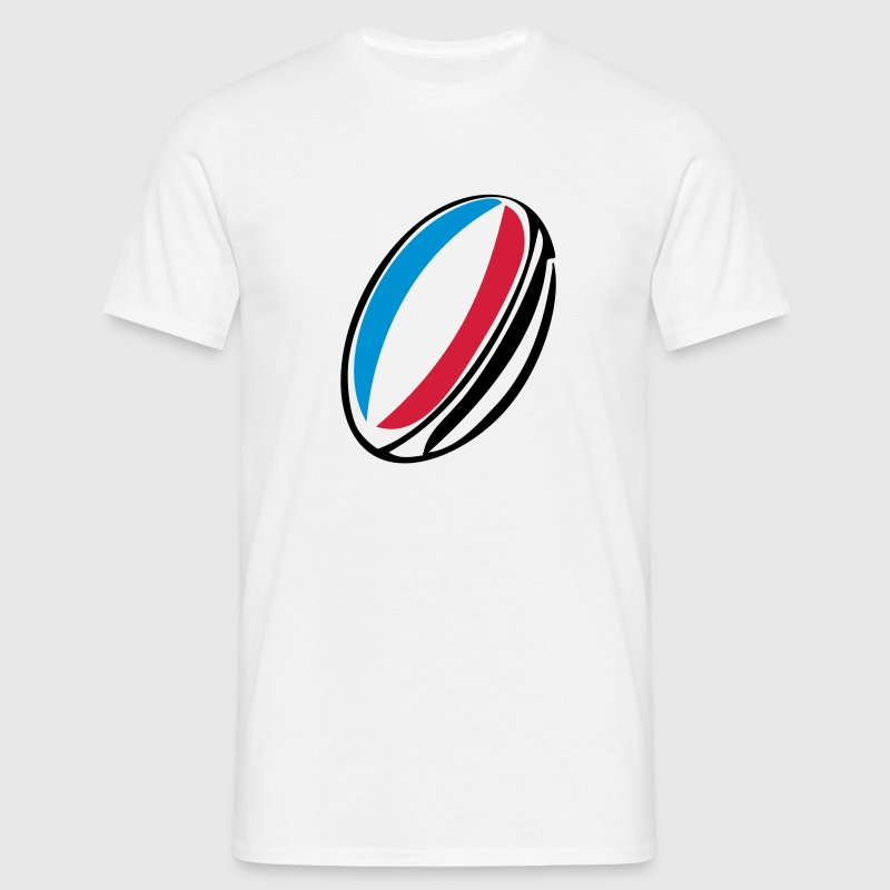 ballon rugby france  Tee shirts - T-shirt Homme