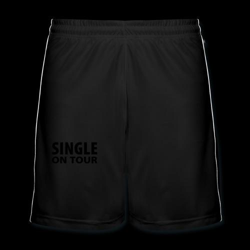 Partnersuche im Regen - Männer Fußball-Shorts