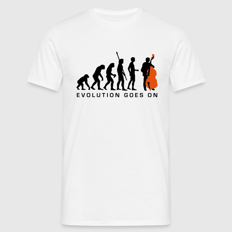 evolution_bass_2c_b Tee shirts - T-shirt Homme