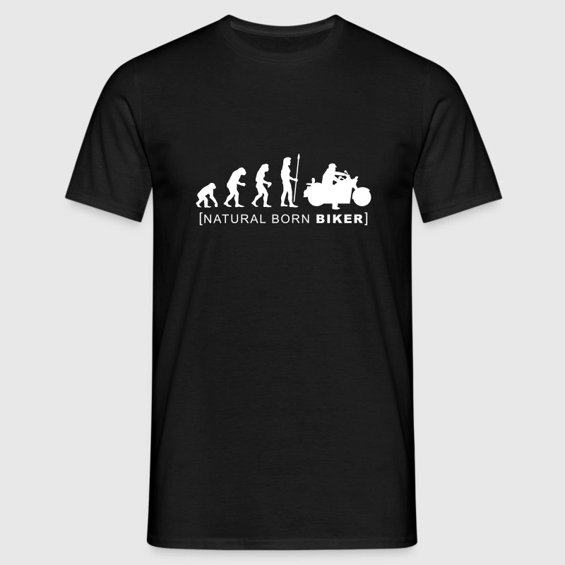 natural born biker T-Shirts - Men's T-Shirt