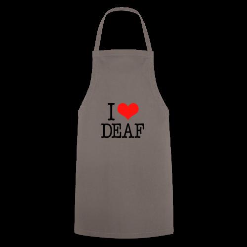 Ich liebe Deaf - Kochschürze