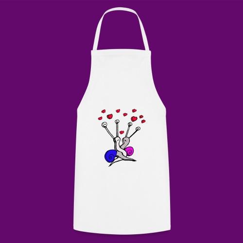 Escargot amoureux - Tablier de cuisine