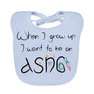 When I grow up... Kids T-shirt - Baby Organic Bib
