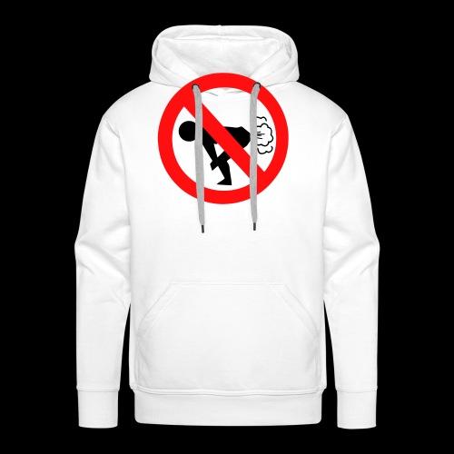 furzen verboten - Männer Premium Hoodie