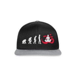 Evolution Yoga Buddhalainen meditaatio T-paidat - Snapback Cap