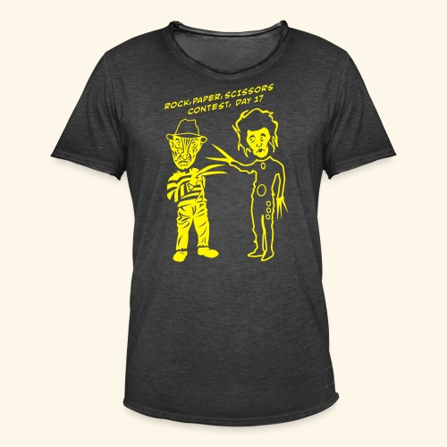 Ed & Fred, Yellowbelly - Männer Vintage T-Shirt