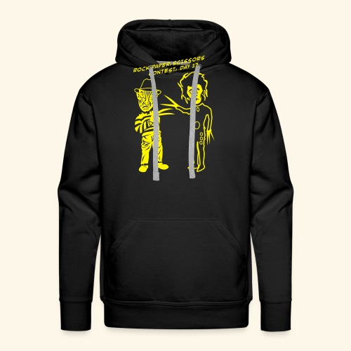 Ed & Fred, Yellowbelly - Männer Premium Hoodie