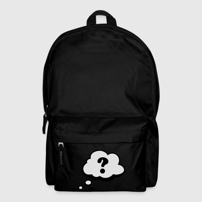 Comic speech bubble question mark Bags  - Backpack