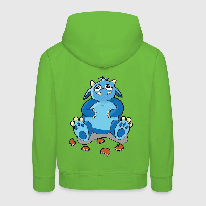 Cookie-Monster - Hunger, Krümel Kinder Pullover - Kinder Premium Hoodie