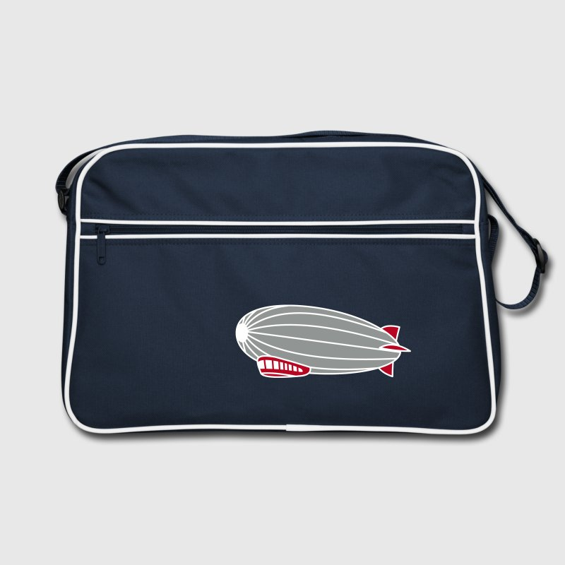 3 colours - Hindenburg Zeppelin Luftschiff Sacs - Sac Retro