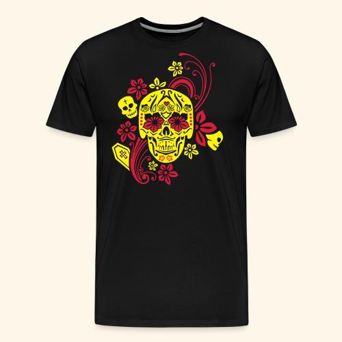 Calavera II, Cancun - Männer Premium T-Shirt