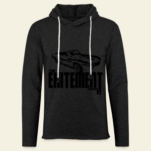 Pontiac Firebird Convertible '69 long  - Let sweatshirt med hætte, unisex