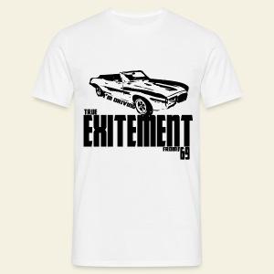 Pontiac Firebird Convertible '69 long  - Herre-T-shirt