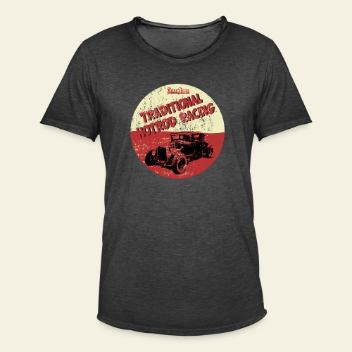 Traditional hotrod - Herre vintage T-shirt