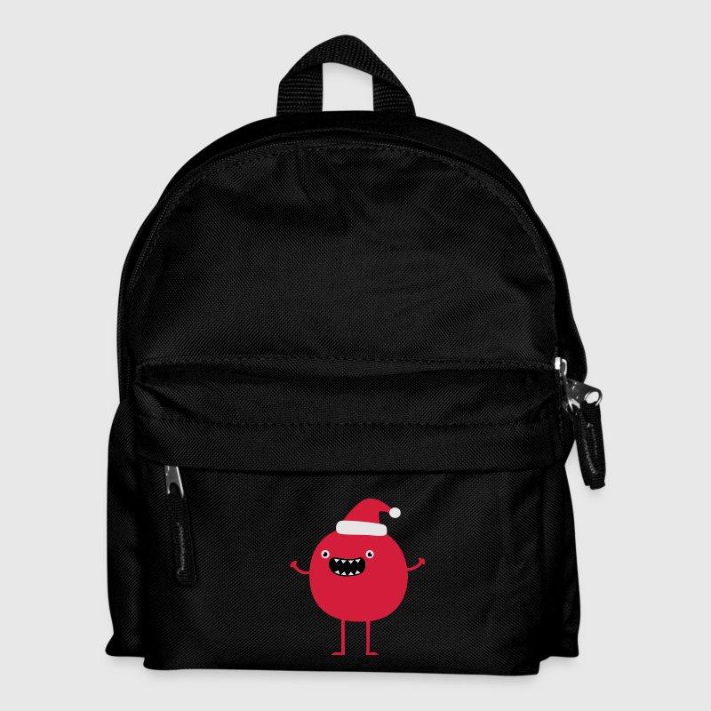 Lustiger Weihnachtsmann Taschen - Kinder Rucksack