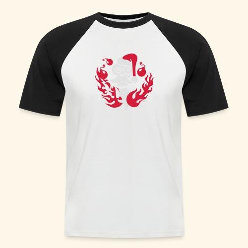 The Grim Santa - Männer Baseball-T-Shirt