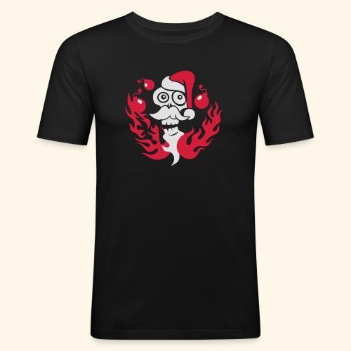 The Grim Santa - Männer Slim Fit T-Shirt