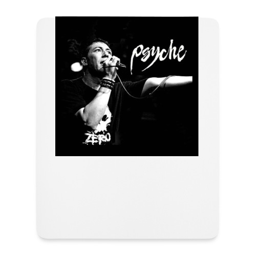 Psyche - Fan Button - Mouse Pad (vertical)