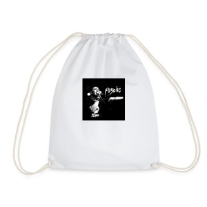Psyche - Fan Button - Drawstring Bag