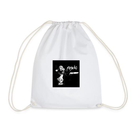 Psyche - Fan Button - Drawstring Bag